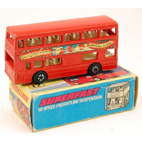 Bus Londres Superfast - Matchbox 1972 - 3inch