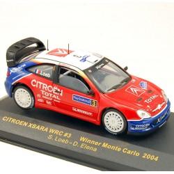 Citroen Xsara Wrc - Monte Carlo 2004 - Ixo - 1/43ème