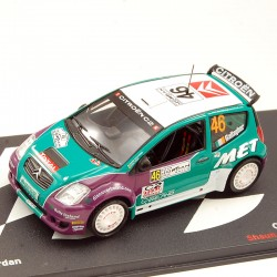 Citroen C2 S1600 - Rally Jordan 2008 - 1/43ème