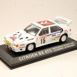 Citroen BX 4TC - Rallye Monte Carlo 1986 - 1/43ème
