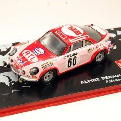 Alpine Renault A110 1600S - Rallye Monte Carlo 1972 - 1/43ème