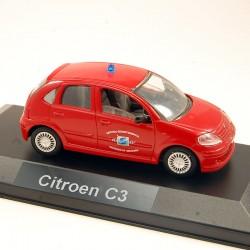 Citroen C3 Pompiers - Solido - 1/43ème
