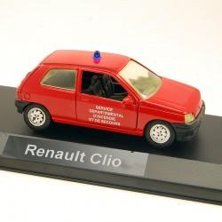 Renault Clio Pompiers - Solido - 1/43ème