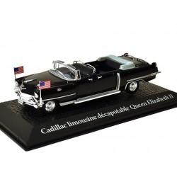 Cadillac Limousine Décapotable Queen Elizabeth II - 1/43eme - en boite