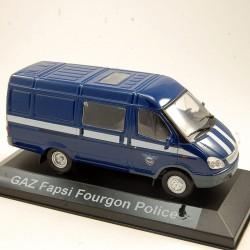 Gaz Fapsi Fourgon Police - 1/43ème