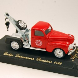 Dodge Dépanneuse Pompiers Chicago - Solido, Age d'Or Made in France - 1/43ème en boite