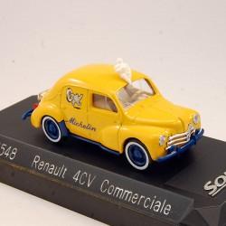 "Renault 4CV Commerciale ""Michelin"" - Solido - 1/43ème"