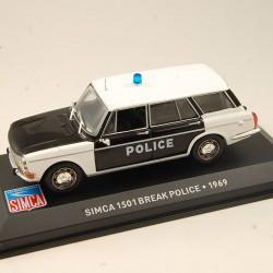 Simca 1501 Break Police - 1/43ème