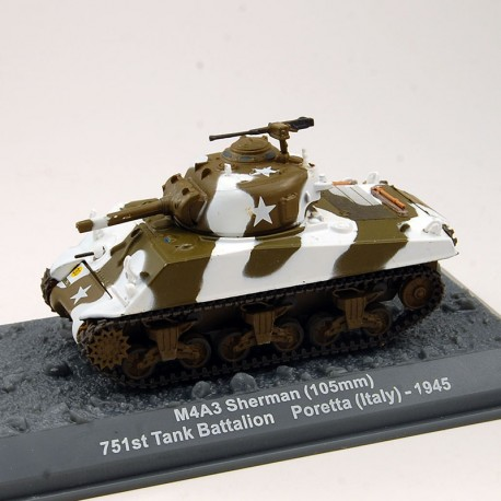 Tank Sherman - Altaya - 1/72ème