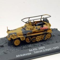 Tank Sd.Kfz. 250/5 Afrikakorps Tobruk ( Libya) 1942 - 1/72 ème En boite