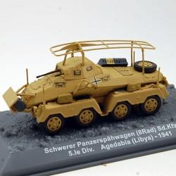 Tank Schwerer Panzerspahwagen - Sd.Kfz.232 - 1/72 ème En boite