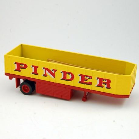 """Remorque """" Pinder """" Transport de Planches - 1/64 ème Sous blister"""