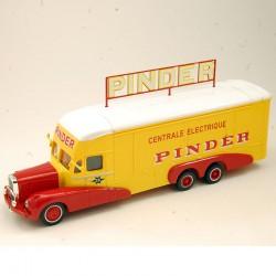 """Camion Bernard Centrale Electrique """" Pinder """" - 1/64 ème Sous blister"""