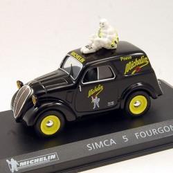 "Simca 5 Fourgonnette "" Michelin "" - 1/43 ème En boite"