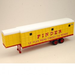 "Animal Trailer "" Pinder "" - 1/64 ème Sous Blister"