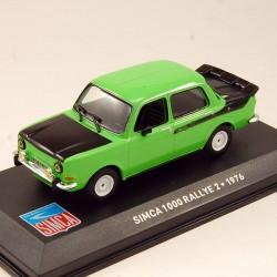 Simca 1000 Rallye 2 de 1976 - au 1/43 en boite