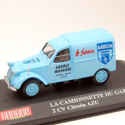 Citroen 2cv AZU - La Camionnette du Garage - 1/43 ème En boite