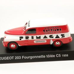 Peugeot 203 Fourgonnette Tôlée C5 - 1/43 ème Sous blister