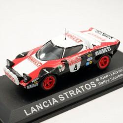 Lancia Stratos - Rallye Sanremo 1978 - 1/43 ème En boite