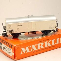 MARKLIN - Wagons Marchandises - Kühlwagen - en boite d'origine - HO - 1/87eme
