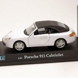 Porsche 911 Cabriolet - Cararama - 1/43 ème En boite