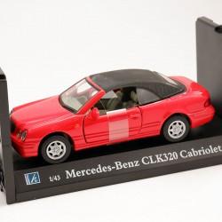Mercedes Benz CLK320 Cabriolet - Cararama - 1/43 ème En boite