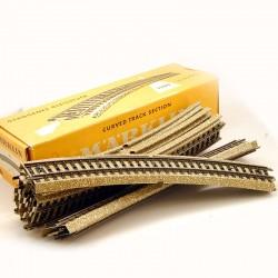 MARKLIN - Boite de 10 Rails Courbes (Voie M) Ref 5200 - HO - 1/87eme