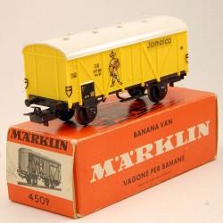 MARKLIN - Wagon à Bananes Couvert Jamaica - en boite d'origine - HO - 1/87eme