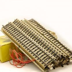 MARKLIN - Boite de 10 Rails Droits (Voie M) Ref 5106 - HO - 1/87eme