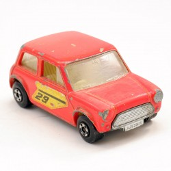 Racing Mini Cooper - Austin Mini - Matchbox - 5.5cm
