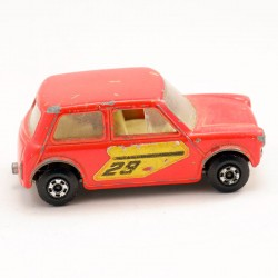Racing Mini Cooper - Austin Mini - Matchbox - 5.5cm
