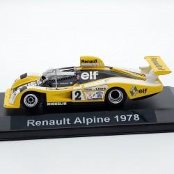 Renault Alpine Le Mans 1978 - au 1/43 en boite