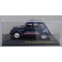 Citroën 2CV - 1/32ème Guisval - Métal - Policia Mossos d'Esquadra
