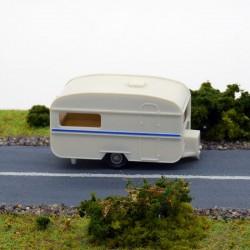 Caravane - Wiking - 1/87 ème En boite
