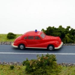 BMW 501 Pompiers - Wiking - 1/87 ème En boite