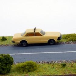 "Ford Granada "" Taxi "" - Herpa - 1/87 ème En boite"
