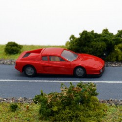 Ferrari Testarossa - Herpa - 1/87 ème En boite