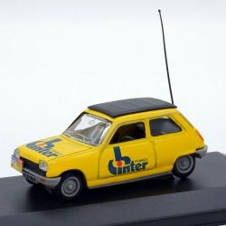 Renault 5 France Inter - 1/43 ème En boite