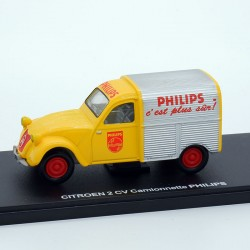 "Citroen 2CV Fourgonnette ""Philips"" - 1/43ème En boite"