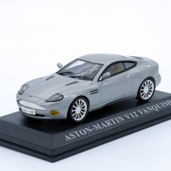 Aston Martin V12 Vanquish - Die Another Day - James Bond - au 1/43 en boite