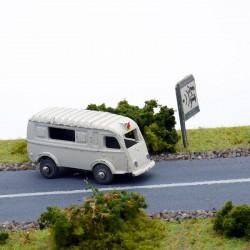 Renault 1000kg Ambulance - CIJ - 1/87 ème