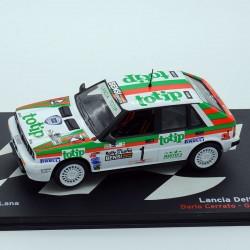 Lancia Delta HF 4WD - Rally Delle Lana 1987 - 1/43 ème En boite