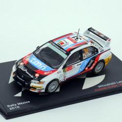 Mitsubishi Lancer Evo IX - Rally Portugal 2009 - 1/43 ème En boite