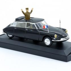 """Citroen DS 19 """"General de Gaulle"""" - Vitesse - 1/43ème en boite"""