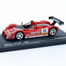 Ferrari 333 SP 1998 - 24h du Mans - 1/43ème en boite