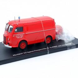 Peugeot D3 Sapeurs Pompiers - Eligor - 1/43ème en boite