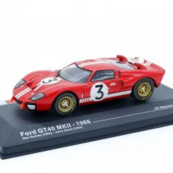 Ford GT40 MKII 1966 - 24h du Mans - 1/43ème en boite
