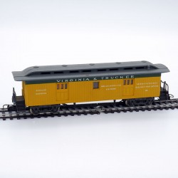 Rivarossi - Voiture Bagages - Virginia & Truckee - HO - 1/87ème