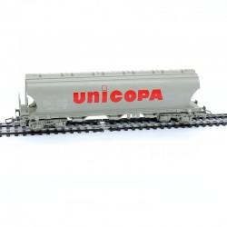 Jouef - Wagon Céréalier UNICOPA - HO - 1/87ème