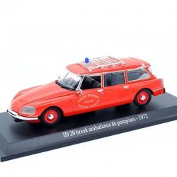 Citroen ID 20 Break Pompiers 1972 - 1/43ème